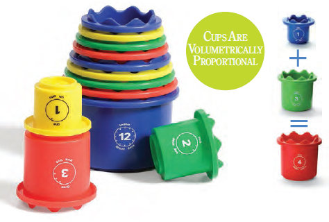 Measure Up Cups from Discovery Toys